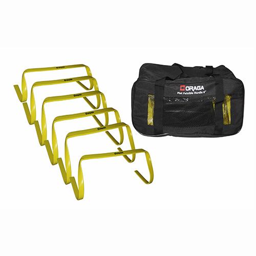 Oraga Flat Flexible Hurdle 6 set of 6
