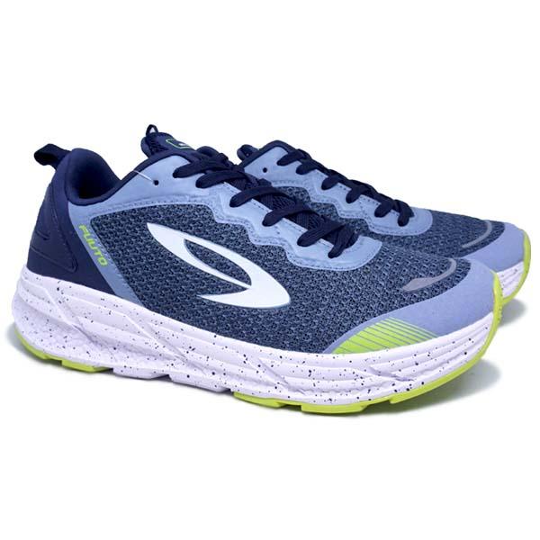 Sepatu Running 910 Fuuto Accel - Majolica Blue/Citadel/Lime