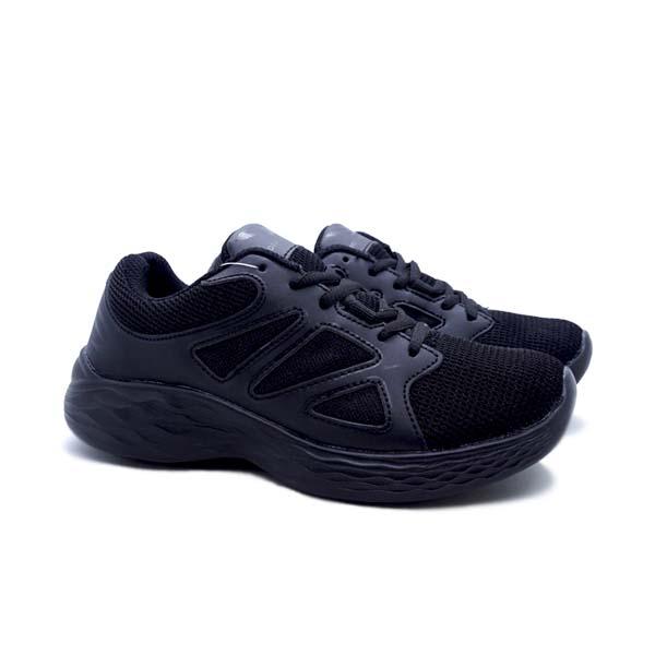 Sepatu Running 910 Kudo Kids - Hitam/Abu Tua