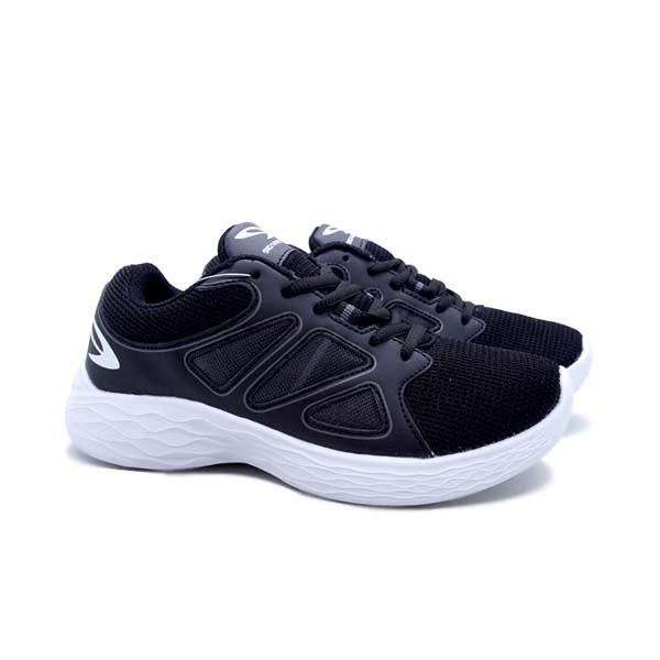 Sepatu Running 910 Kudo Kids - Hitam/Putih