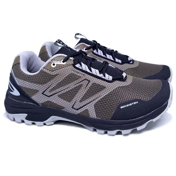 Sepatu Running 910 Yuza - Coklat/Abu Abu
