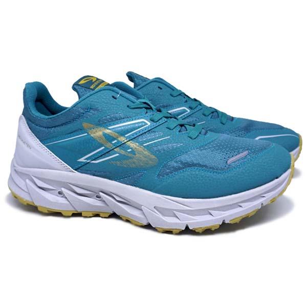 Sepatu Running 910 Yuza Evo - Hijau/Abu/Emas