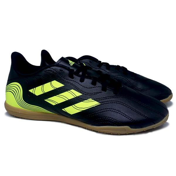 Sepatu Futsal Adidas Copa Sense.4 IN - Cblack/Syello/Syello