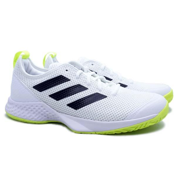 Sepatu Tennis Adidas Court Control M - Ftwwht/Cblack/Syello