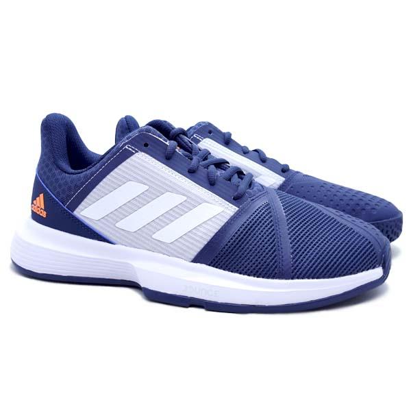 Sepatu Tennis Adidas CourtJam Bounce M - Crenav/Ftwwht/Halblu