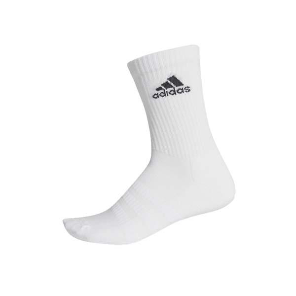 Kaos Kaki Adidas Cush Crw 1PP - White