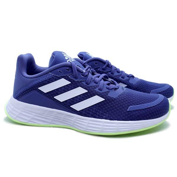 Sepatu Running Adidas Duramo SL - Crew Blue/Cloud White/Halo Blue
