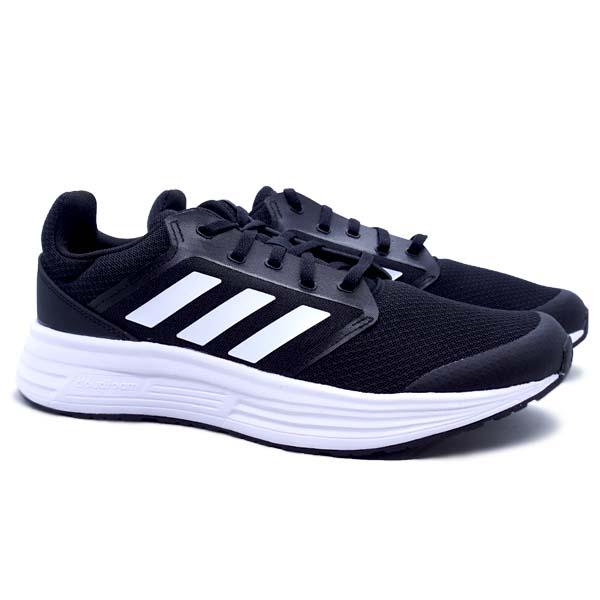 Sepatu Running Adidas Galaxy 5 - Core Black/Cloud White/Cloud White