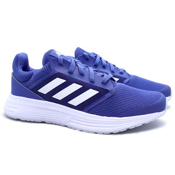 Sepatu Running Adidas Galaxy 5 - Crew Blue