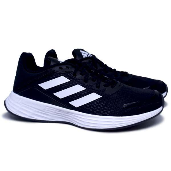Sepatu Running Adidas Duramo SL H04628 - Cblack/Cloud White/Carbon