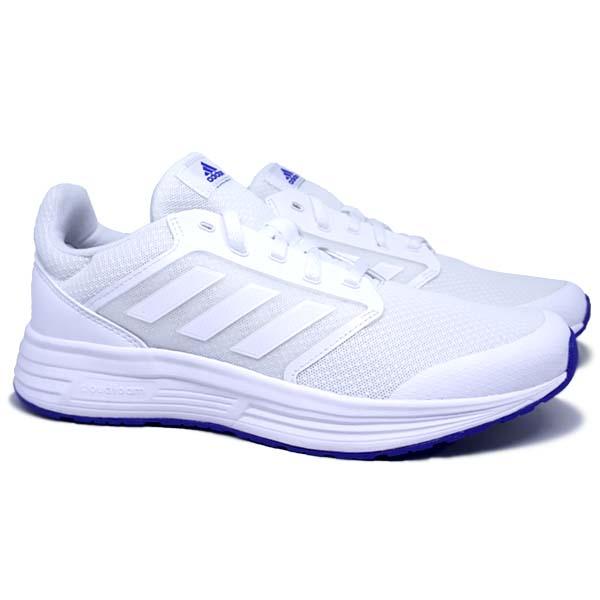 Sepatu Running Adidas Galaxy 5 G55774 - Ftwwht/Blue