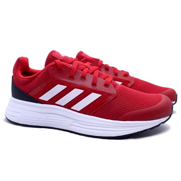 Sepatu Running Adidas Galaxy 5 - Scarlet/Cloud White/Core Black