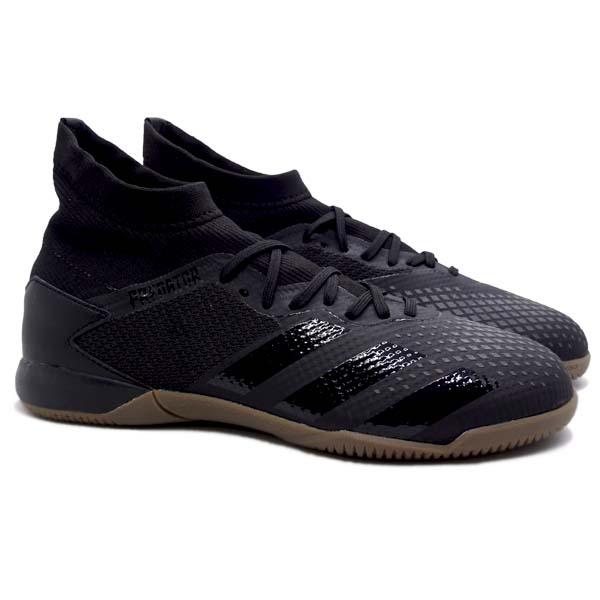 Sepatu Futsal Adidas Predator 20.3 IN - Cblack/Cblack