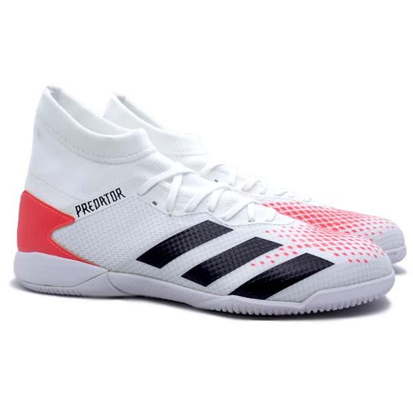 Sepatu Futsal Adidas Predator 20.3 IN - Ftwr White
