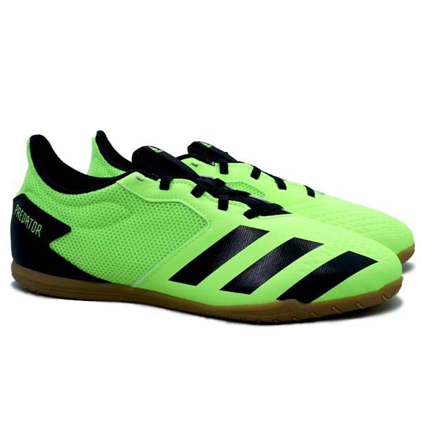 Sepatu Futsal Adidas Predator 20.4 Sala IN - Siggnr/Black