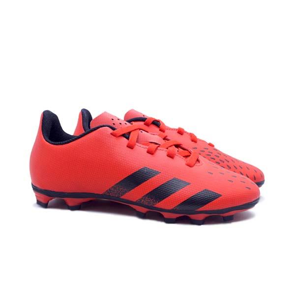 Sepatu Bola Anak Adidas Predator Freak.4 FG JR - Red/Cblack/Red