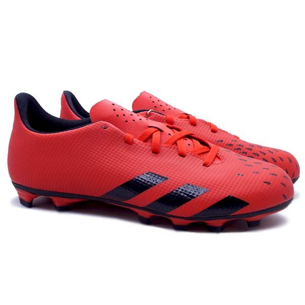 Sepatu Bola Adidas Predator Freak.4 FG - Red/Cblack/Red
