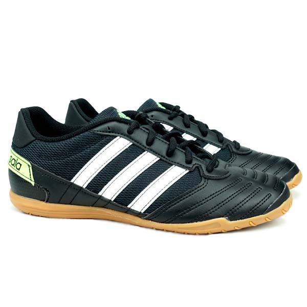 Sepatu Futsal Adidas Super Sala - Cblack/Ftwwht