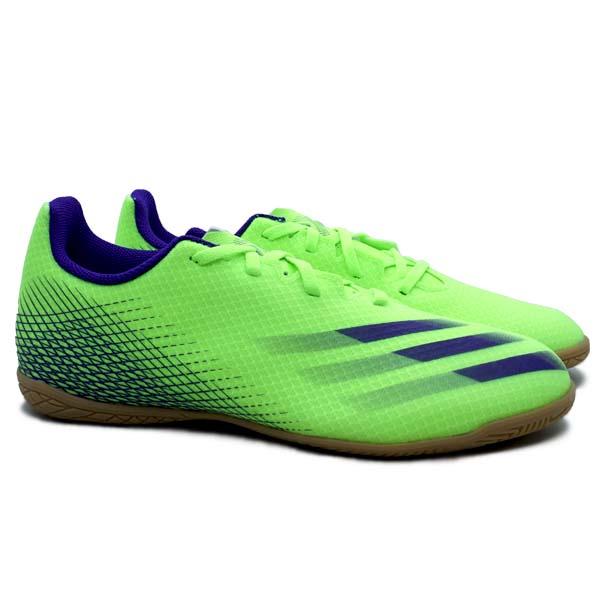 Sepatu Futsal Adidas X Ghosted.4 IN - Siggnr/Eneink