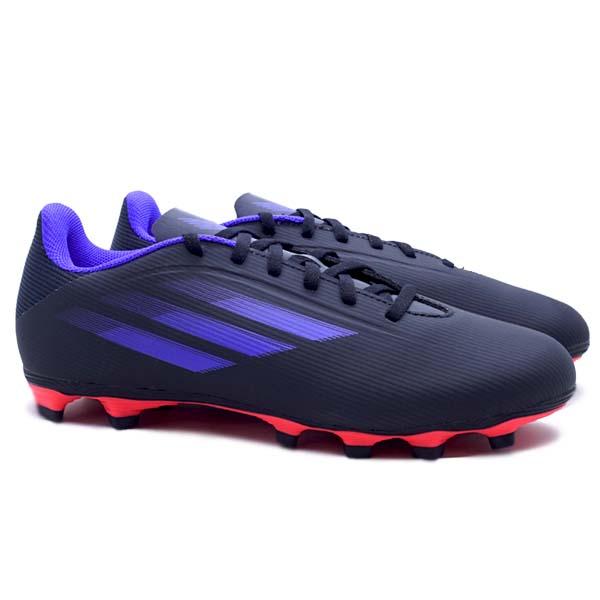 Sepatu Bola Adidas X Speedflow.4 FG - Cblack/Sonink/Syello