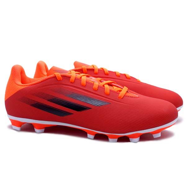 Sepatu Bola Adidas X Speedflow.4 FG - Red/Cblack/Solred