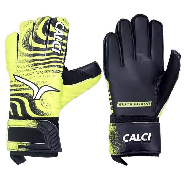 Sarung Tangan Kiper Calci Beast GK Gloves - Citroen/Black