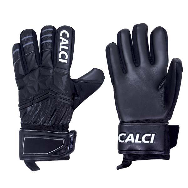 Sarung Tangan Kiper Calci Illustro Ultima GK Gloves - Black/D.Grey