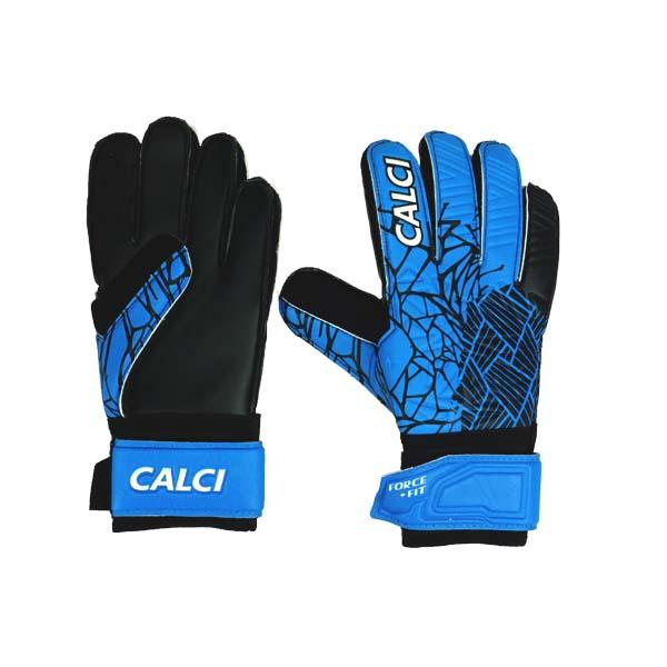 Sarung Tangan Kiper Calci Venom GK Gloves - Sea Blue/Black