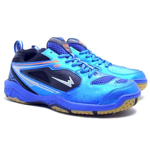 Sepatu Badminton Eagle Astro - Biru/Hitam