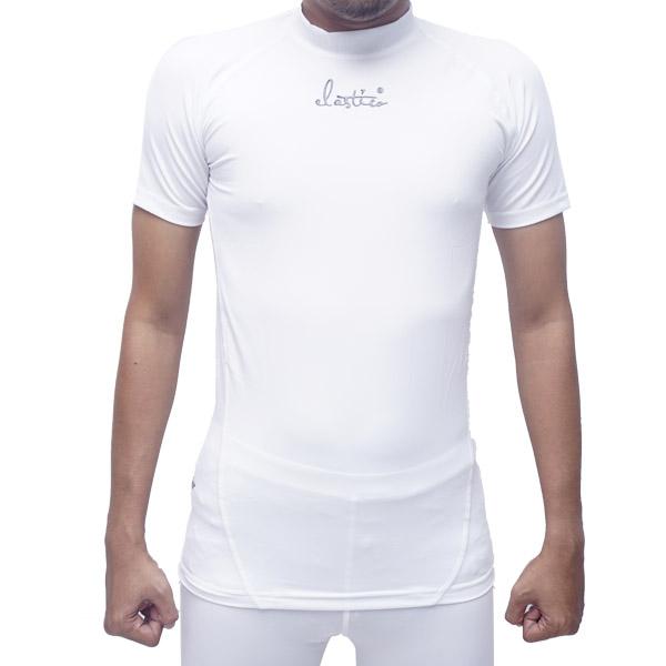 Baselayer Elastico Short Sleeve - Putih