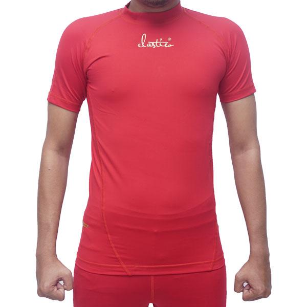 Baselayer Elastico Short Sleeve - Merah