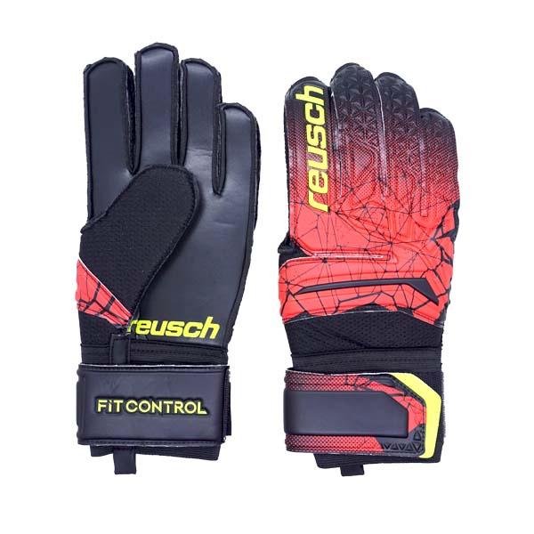 Sarung Tangan Kiper Reusch Gk Gloves FC SD ADULT 7039 - Black/Red