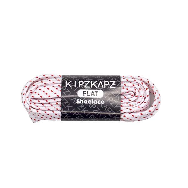 TaliSepatu Kipzkapz Flat FS58 - 115 - White Red Stripes