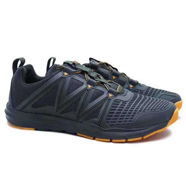 Sepatu Running League Cage M - Rosin/Bright Marygold