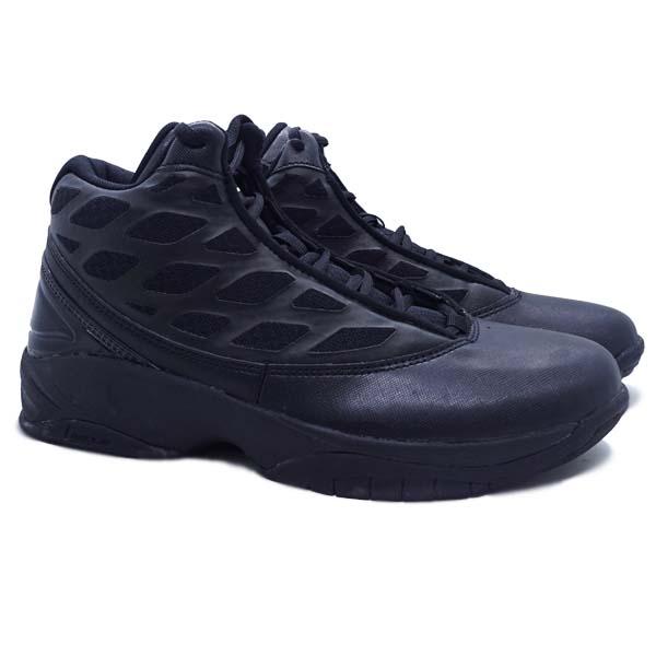Sepatu Basketball League Clash - Black/White