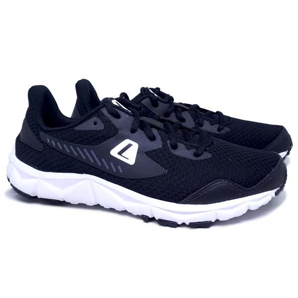 Sepatu Running League Rascal U 102099001N - Black/Black/White