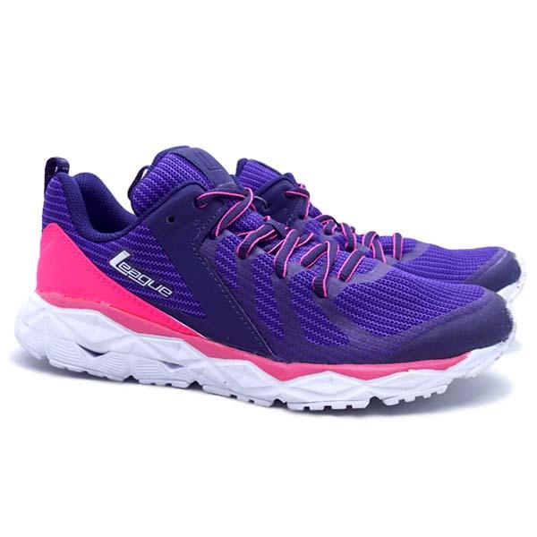Sepatu Running League Regulus - Astral Aura/Pink Flash/White