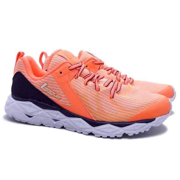 Sepatu Running League Regulus - Bright Manggo/Nine Iron/White