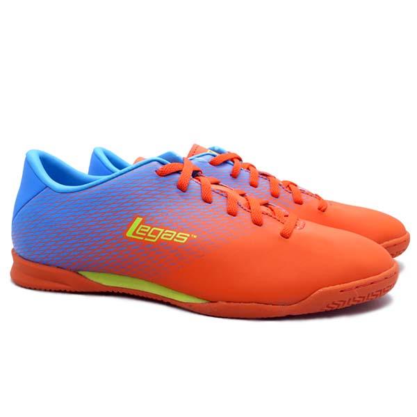Sepatu Futsal Legas Attacanti LA - Cherry Tomato/Dresdent Blue/Li