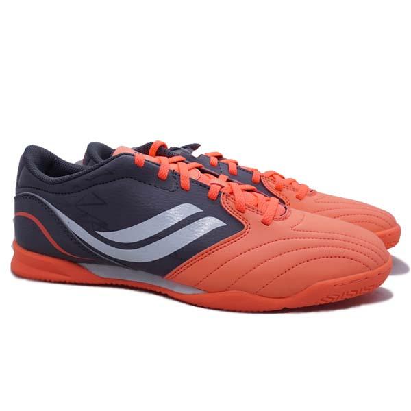 Sepatu Futsal Legas Encanto LA - Bright Mango/ Dark Gull Grey