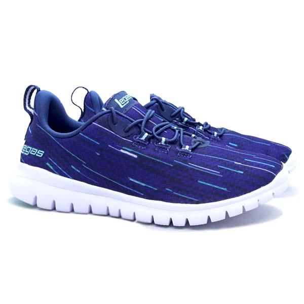 Sepatu Running Legas Fit LA W - Majolica Blue/Aruba Blue/Whi