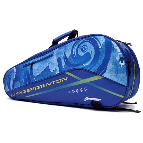 Tas Li-Ning 2 in 1 Racket Bag ABDR190-1 - Blue