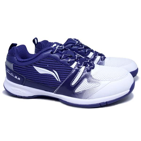 Sepatu Badminton Li-Ning Attack G8 - White/Navy