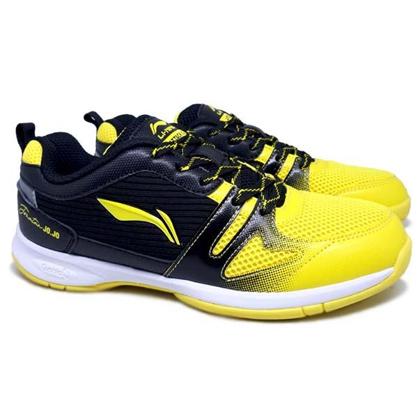 Sepatu Badminton Li-Ning Attack G8 - Yellow/Black