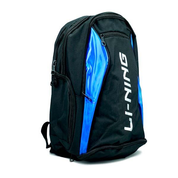 Tas Li-Ning Backpack ABSP496-3 - Black/Blue