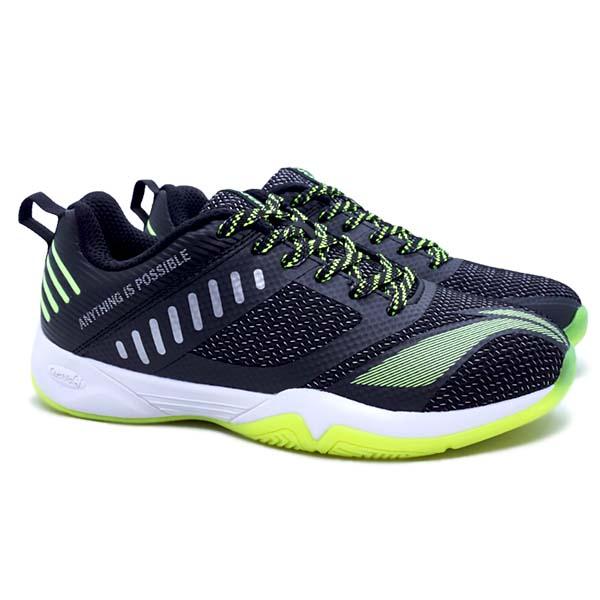 Sepatu Badminton Li-Ning Cloud Ace X - Black/Lime