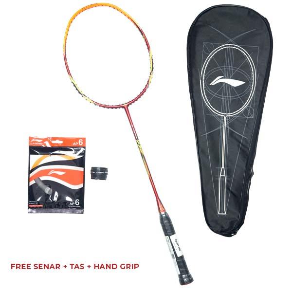 Raket Badminton Li-Ning G-Force 77 - Red/Orange