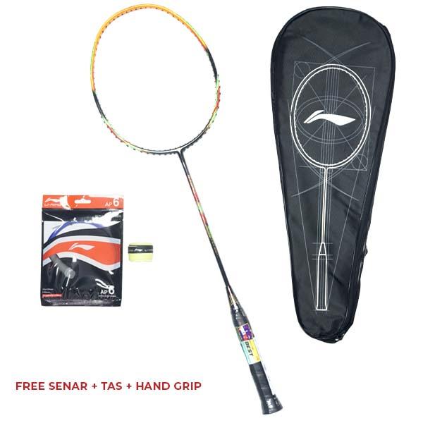 Raket Badminton Li-Ning G-Force 8 - Black/Orange