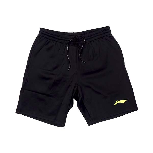 Celana Li-Ning Men's Shorts AKSM519-2 - Black/Lime