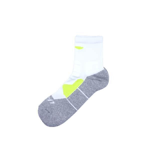 Kaos Kaki Li-Ning Quarter Socks AWLR121-2 - White/Grey